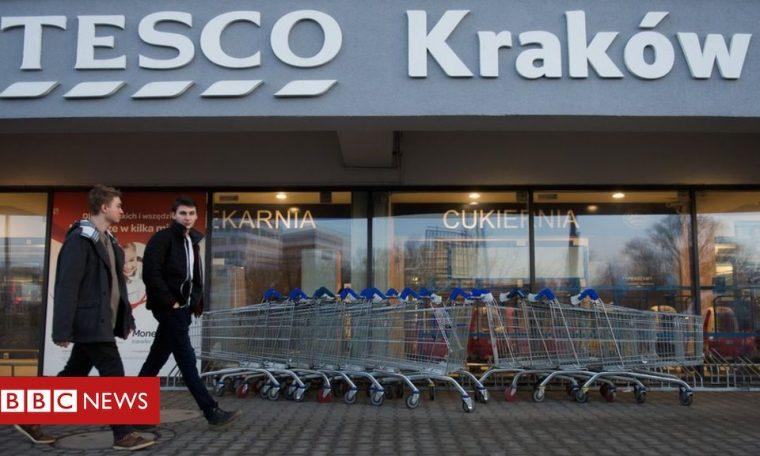 Tesco sells Polish supermarket business