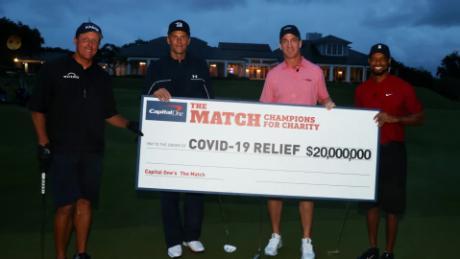 The spectacle raised $20 million for the coronavirus relief effort.