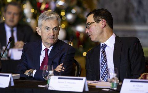 Treasury yields retreat as Fed's Powell warns of prolonged uncertainty
