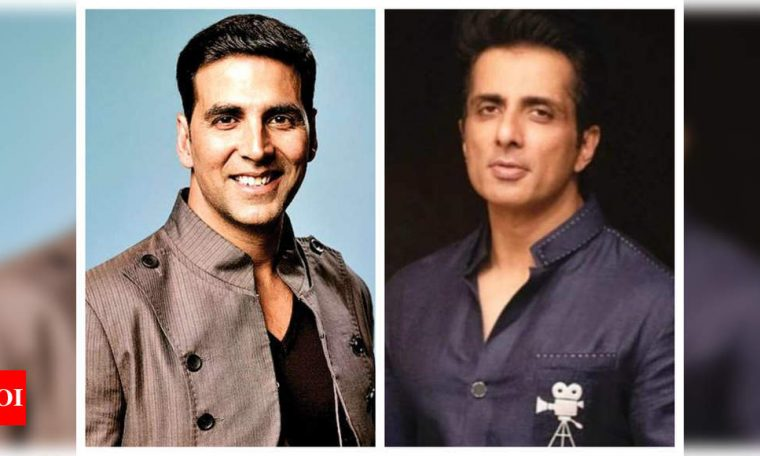 Twitterati demand Bharat Ratna for Akshay Kumar and Sonu Sood for their work and contribution during COVID-19 pandemic | Hindi Movie News