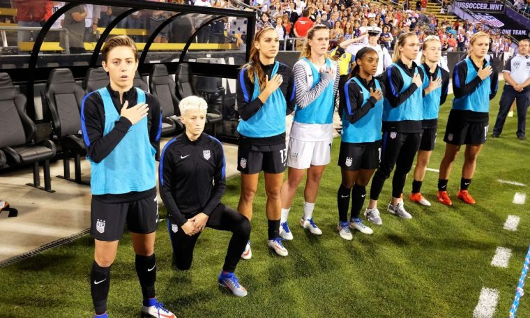 USWNT's Crystal Dunn feared being dropped if she joined Megan Rapinoe's kneeling protest