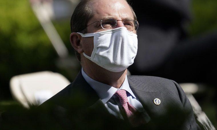 'We have to act' — HHS Secretary Azar warns 'window closing' to halt coronavirus spike