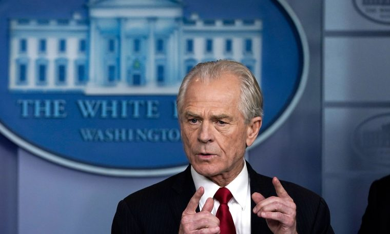White House trade advisor Peter Navarro denies saying China trade deal is 'over'