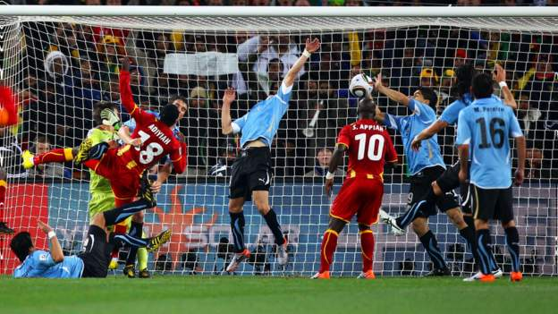 2010 World Cup: Ghana players 'cannot forgive' Suarez handball 10 years on
