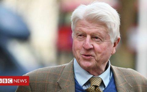 Coronavirus: PM's father Stanley Johnson criticised for lockdown trip to Greece
