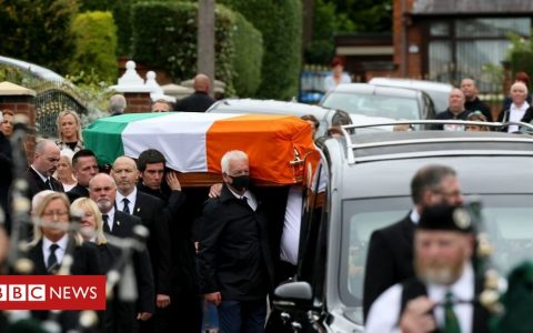 Bobby Storey funeral: Council apology over 'error of judgement'