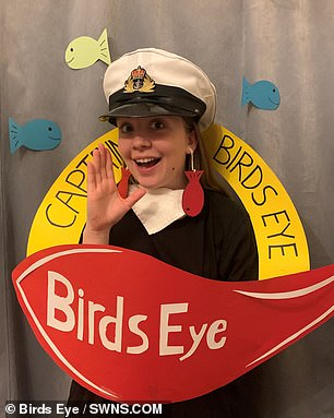 Charlotte Carter-Dunn's entry photo helped her earn a prize that has seen her crowned the new Captain Birdseye