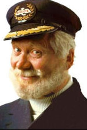 The original: John Hewer was the first and longest-serving Captain Birdseye, plugging fishfingers from 1967 to 1998