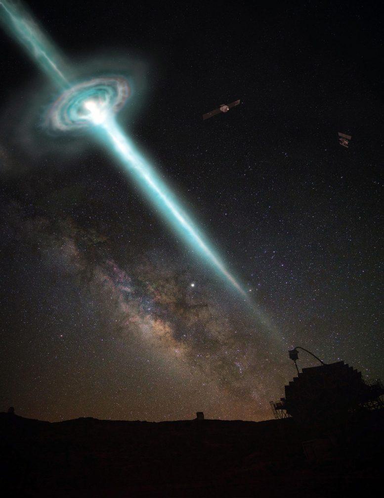 Gamma-Ray Burst Hits MAGIC