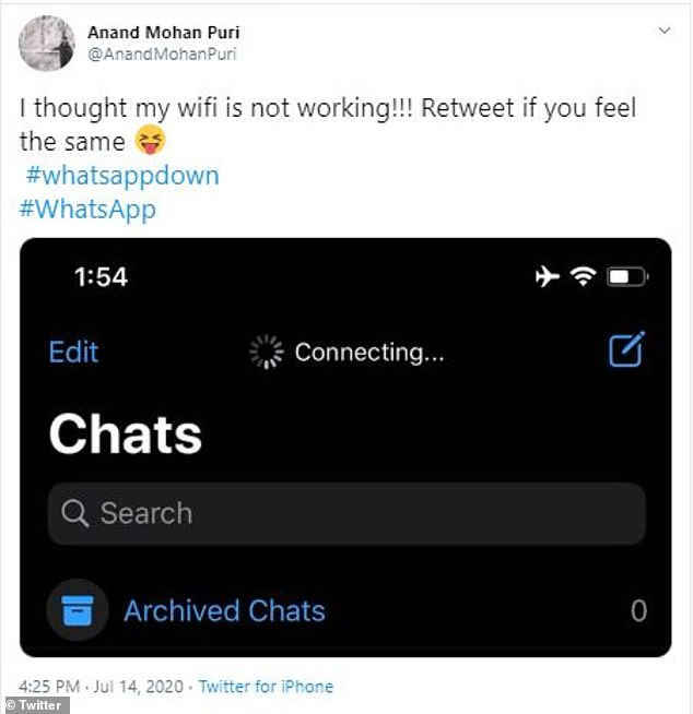 The biggest issue that plagued WhatsApp users was the inability to connect to the app