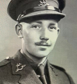 Colonel Tom pictured during the Second World War. Boris Johnson described him as a national treasure during the Covid-19 crisis