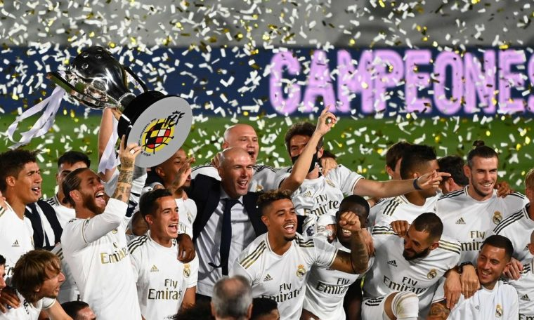 Real Madrid win La Liga with 2-1 victory over Villarreal to secure 34th title