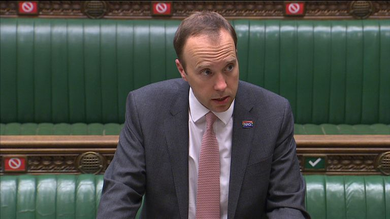 Health Secretary Matt Hancock lays out what restrictions have and have not been lifted in Leicester.