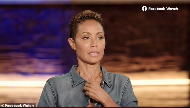 Dishing: Jada laid everything else out on the table last Friday as she dished on her entanglement with Alsina