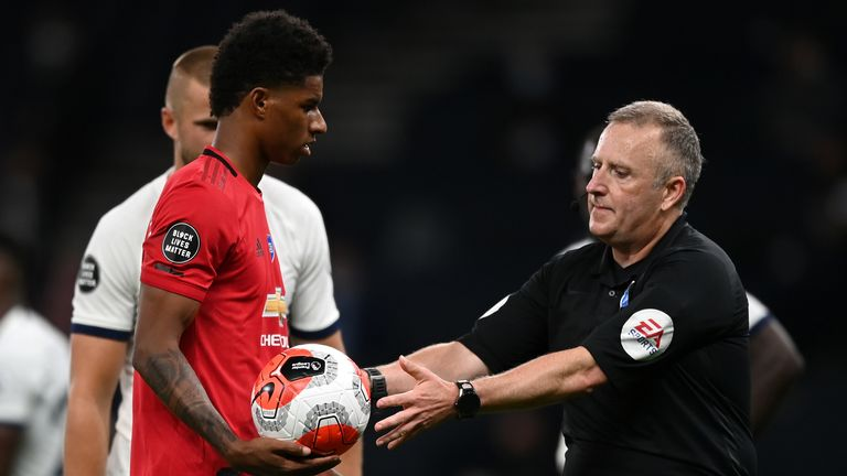Solskjaer says United have had their fair share of decisions go against them since the Premier League restart
