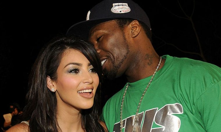 Kim Kardashian supported by 50 Cent who takes vicious swipe at Kanye West
