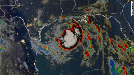 Tropical Storm Hanna forms in the Gulf of Mexico