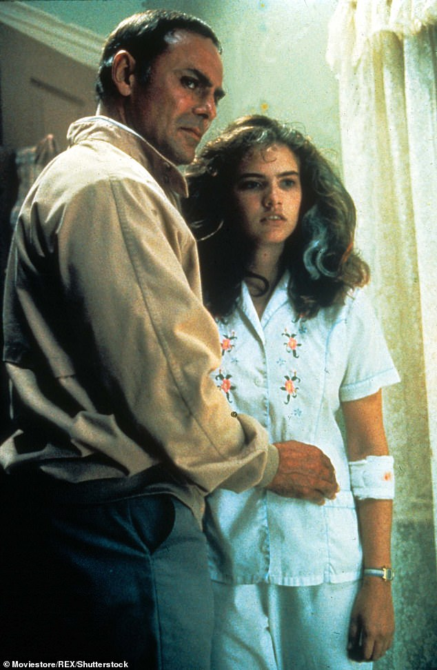Horror classic: Saxon also played a police officer in the original horror film A Nightmare On Elm Street in 1984