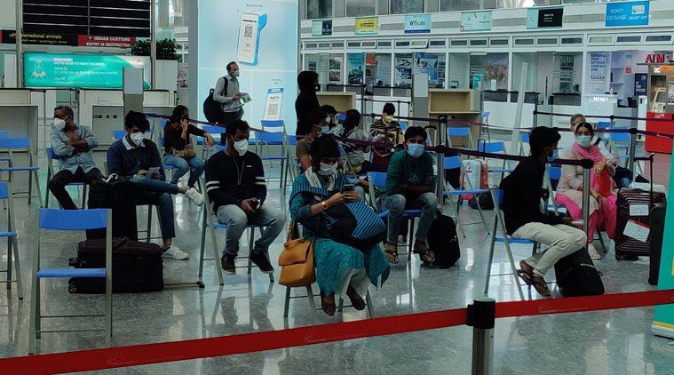 bengaluru airport, ac temperature, temperature increase, ac temperature coronavirus guidelines, indian express