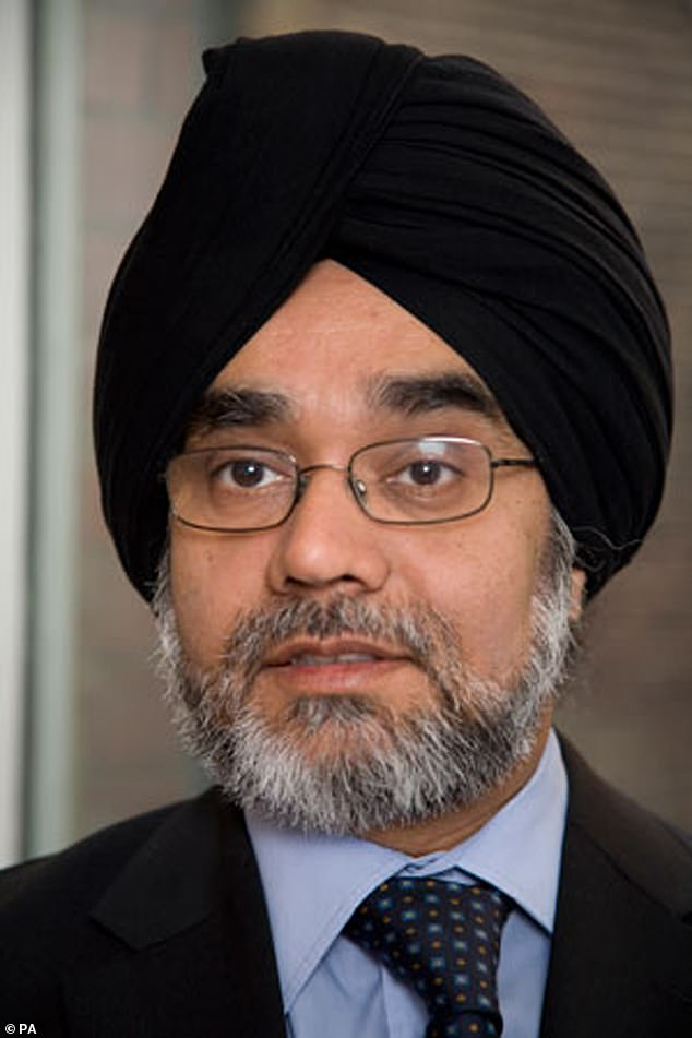 Lord Justice Singh (pictured) said yesterday that although ¿something serious had gone wrong¿ he accepted MI6¿s contrition