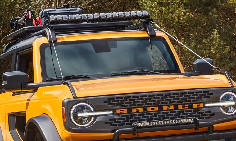 7 funky features on the 2021 Ford Bronco