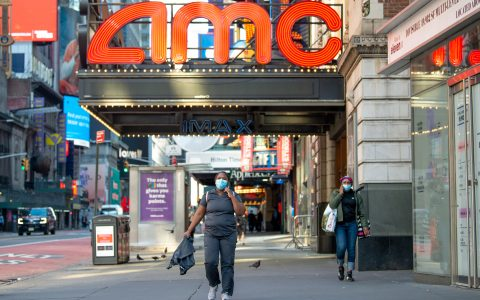 AMC surges after WSJ report that it's working to avoid bankruptcy