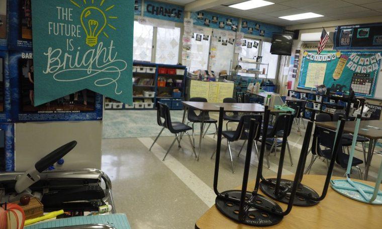 After warning from teachers union president, Murphy talks school reopening in N.J.