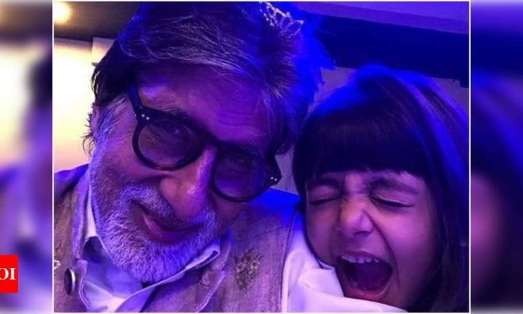 Amitabh Bachchan's throwback goofy selfie with granddaughter Aaradhya is surely the cutest thing you'll see on the internet today | Hindi Movie News