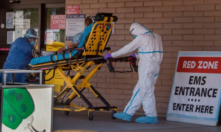Arizona reports more than 4,000 new coronavirus cases, ICUs 89 percent full