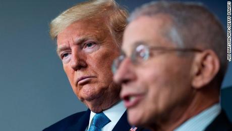 Trump and Fauci not speaking as coronavirus pandemic worsens