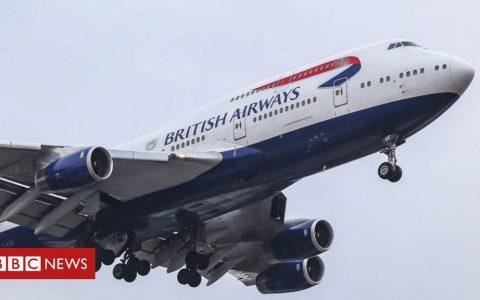 British Airways retires entire 747 fleet after travel downturn