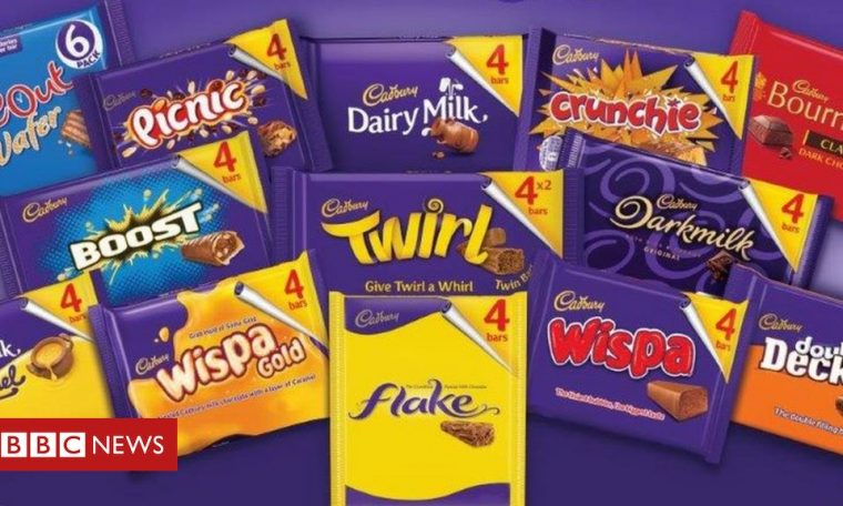 Cadbury accused of 'shrinkflation' as packs get smaller