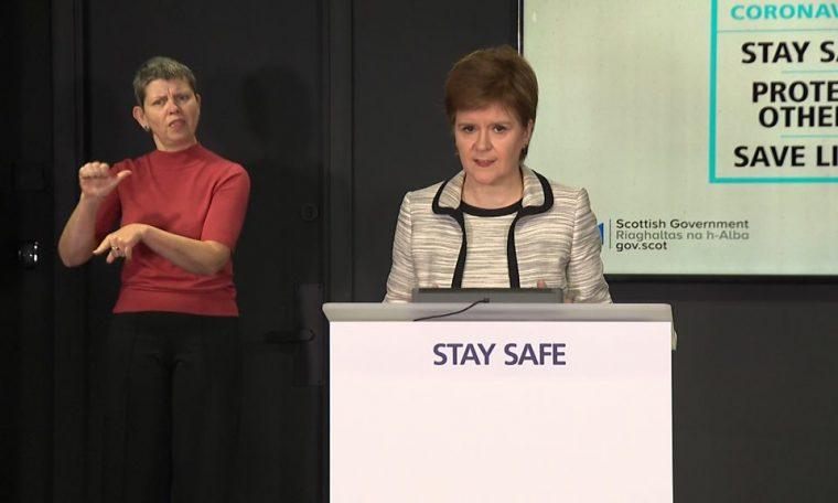 Coronavirus: Nicola Sturgeon attacks 'shambolic' air bridges decision