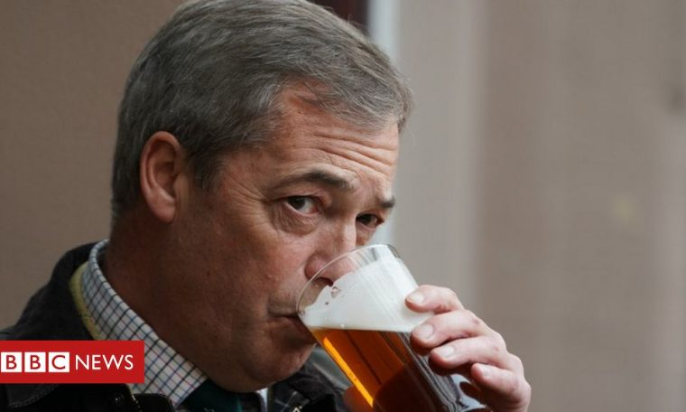 Coronavirus: Nigel Farage pub trip raised with Kent Police