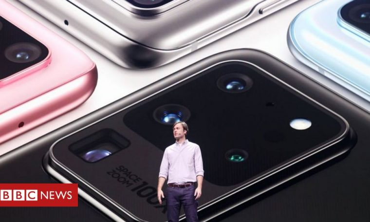 Coronavirus: Samsung profits soar on work from home demand