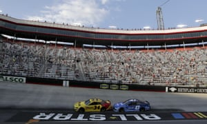 Yesterday's Nascar event at Bristol Motor Speedway in Tennessee was the largest sporting event in the US since the pandemic began four months ago