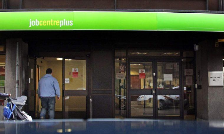 People enter the Jobcentre Plus