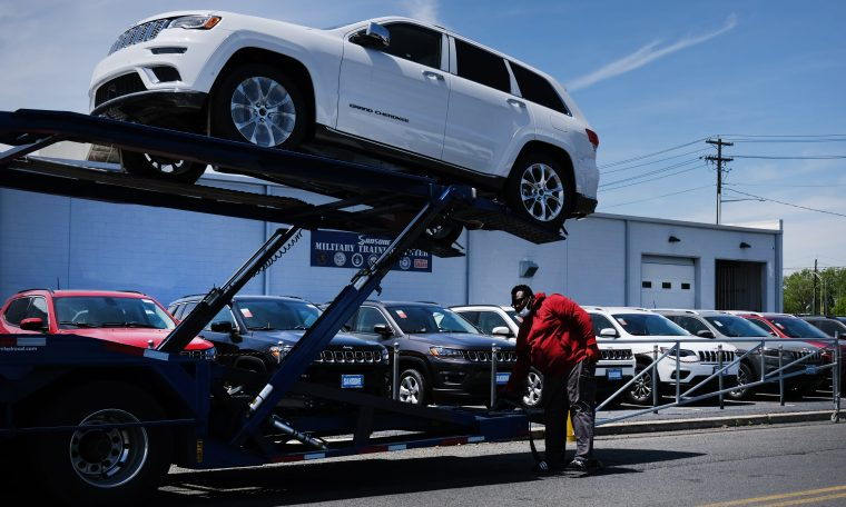 Coronavirus is expected to tank U.S. auto sales in the second quarter
