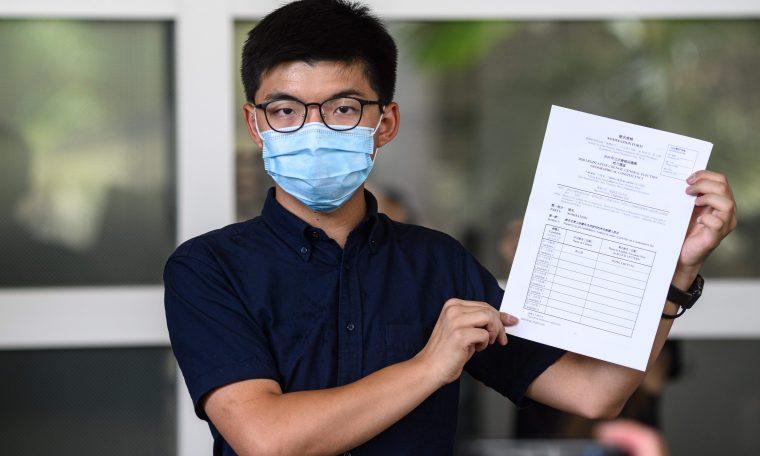 Critics slam Hong Kong move to bar pro-democracy candidates from election