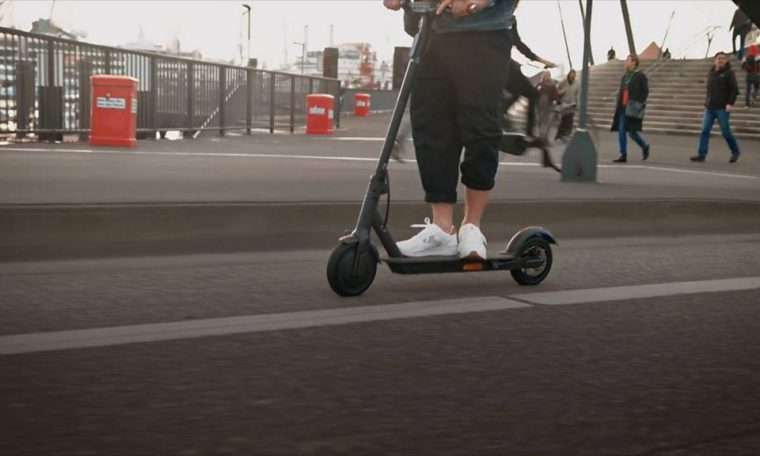 E-scooters 'an alternative to cars' for Welsh communities