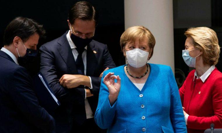 EU leaders fight to break deadlock on recovery fund