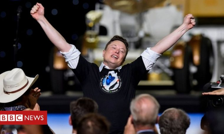 Elon Musk briefly becomes fifth-richest person