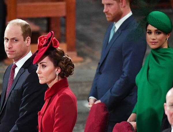Where Prince Harry and Meghan Markle Stand With Prince William and Kate Middleton