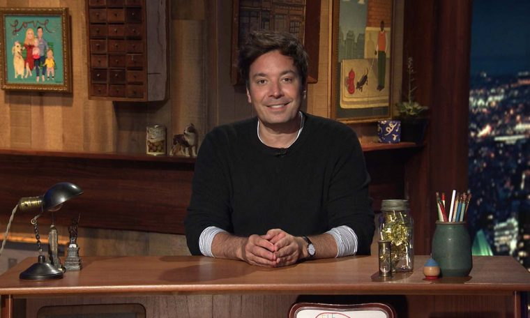 Fallon Returns to 'Tonight Show' Studio 4 Months After COVID-19 Shutdown