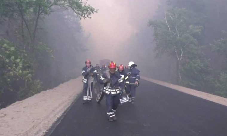 Forest fires kill at least six in Ukraine's Luhansk region