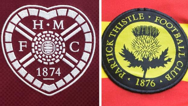 Hearts & Partick Thistle charged by SFA for relegation legal case