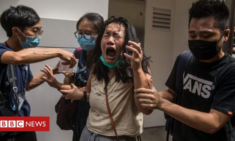 Hong Kong: US passes sanctions as world condemns new law
