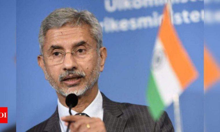 It is a work in progress, EAM Jaishankar on disengagement and de-escalation on Sino-Indian border | India News