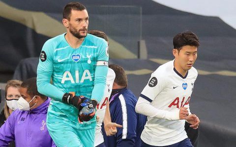 Jose Mourinho praises 'beautiful' spat between Lloris and Son