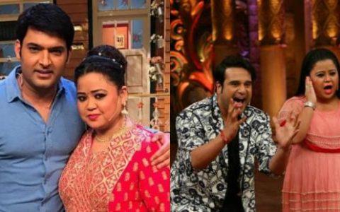 Kapil Sharma, Bharti Singh and Krushna's 'goofy' VIDEOS from The Kapil Sharma Show sets will make you ROFL